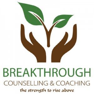 (Logo) Breakthrough Counselling & Coaching: The strength to rise above